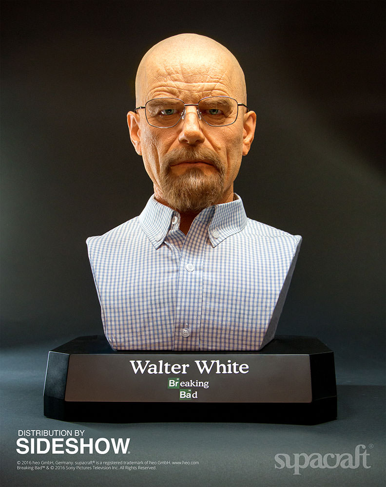 Buste Life Size de Walter White de Breaking Bad par Supracraft Bb110