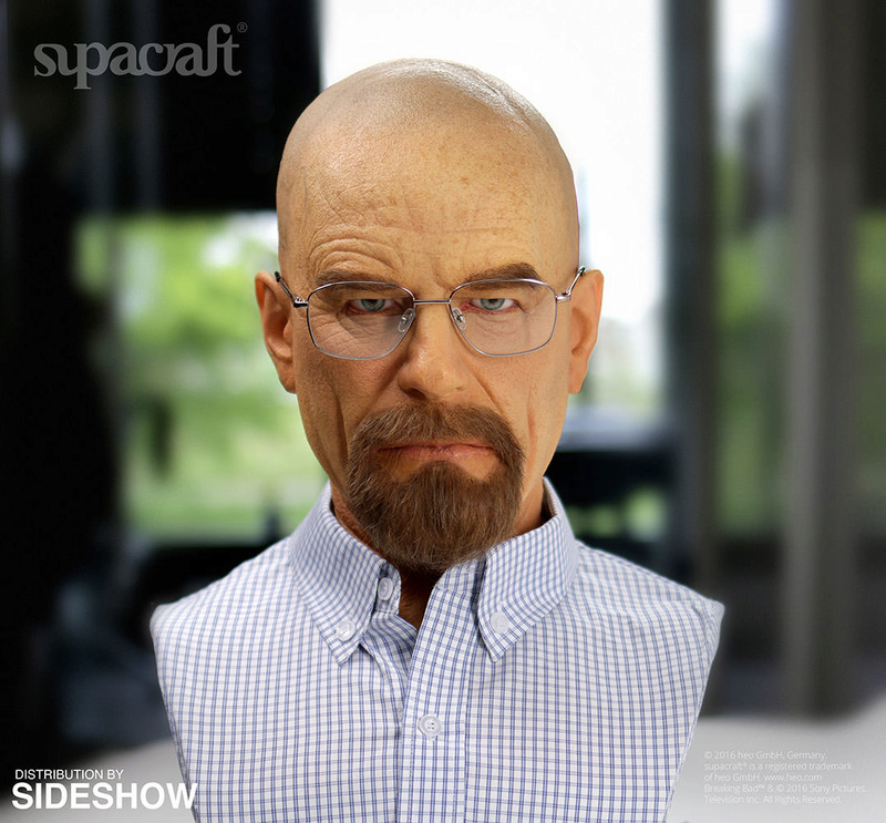 Buste Life Size de Walter White de Breaking Bad par Supracraft Bb210