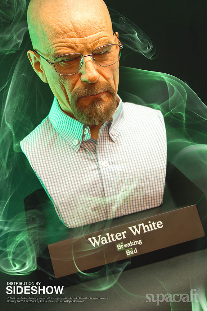 Buste Life Size de Walter White de Breaking Bad par Supracraft Bb310