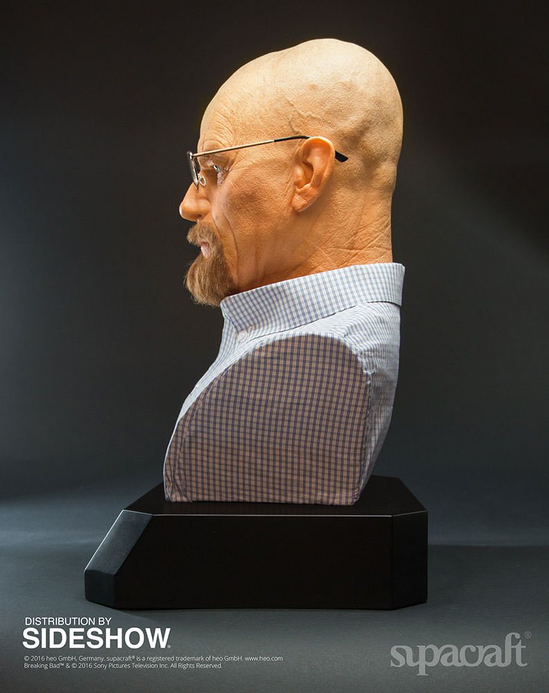Buste Life Size de Walter White de Breaking Bad par Supracraft Bb510