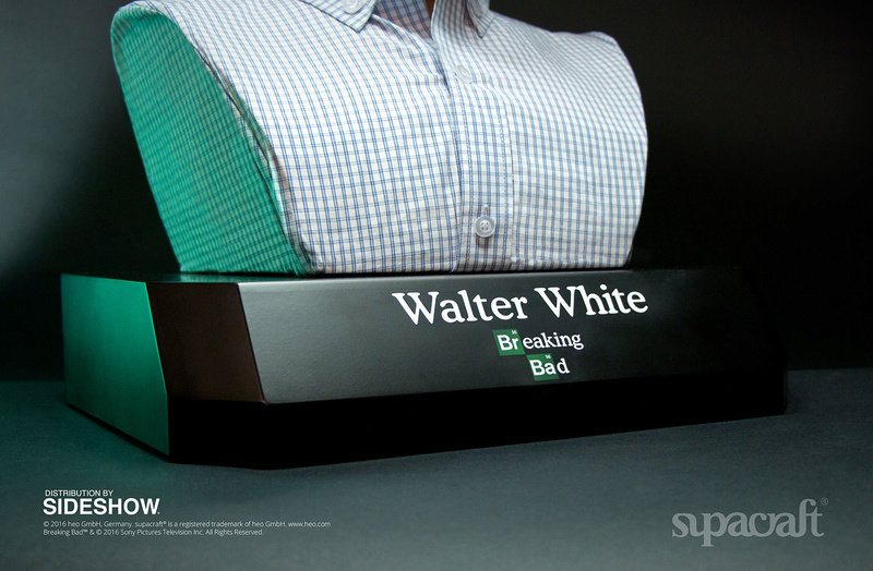 Buste Life Size de Walter White de Breaking Bad par Supracraft Bb710