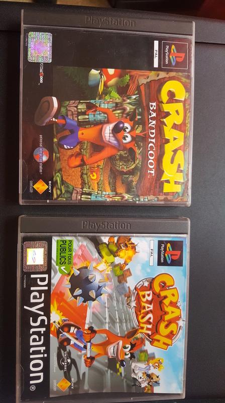 Collection yan67 : Arrivées Jeux PS1(19) et NES  p5 : 07/09/16 - Page 4 Crash10