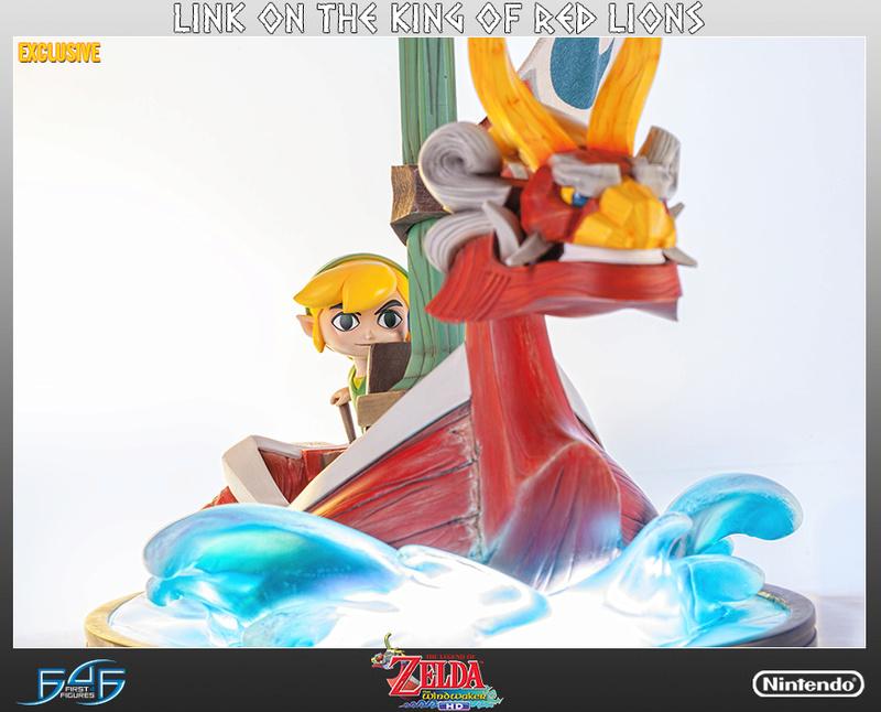 F4F : Link et le Lion Rouge Z1210