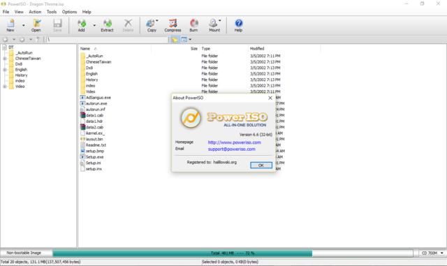 PowerISO 6.6 Poweri10