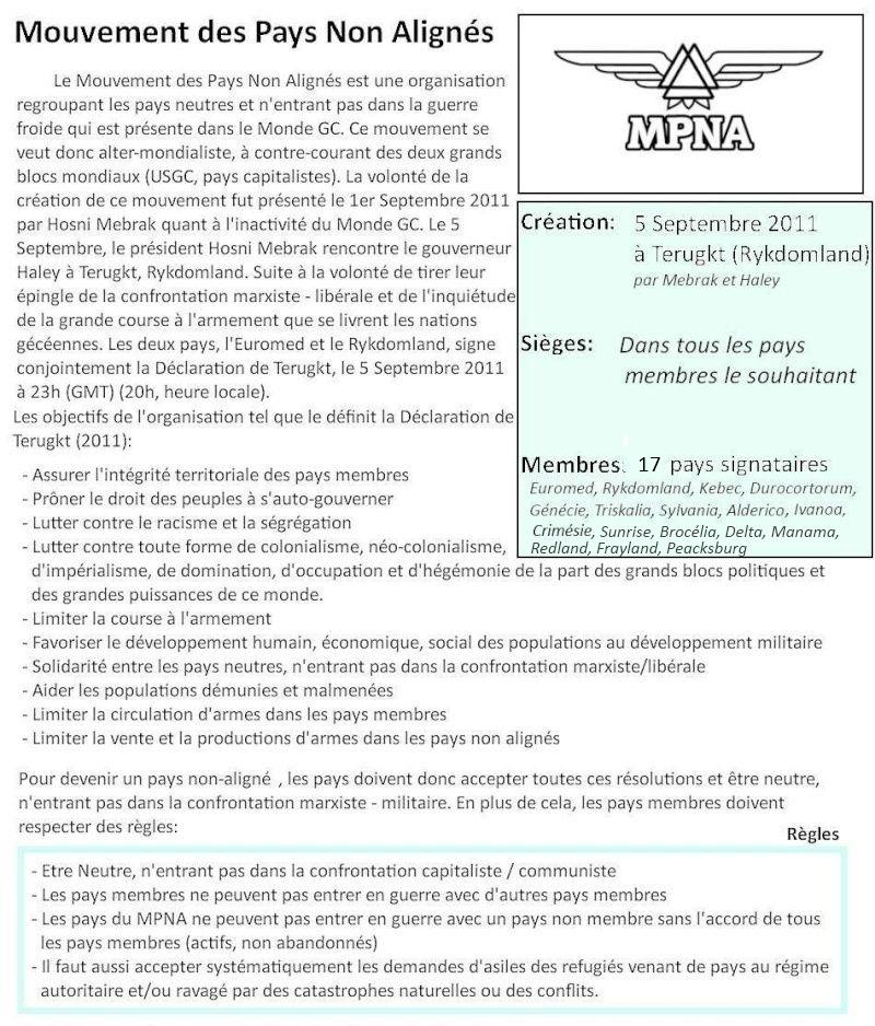 Mouvement des Pays Non-Alignés (MPNA) Mpnaa10
