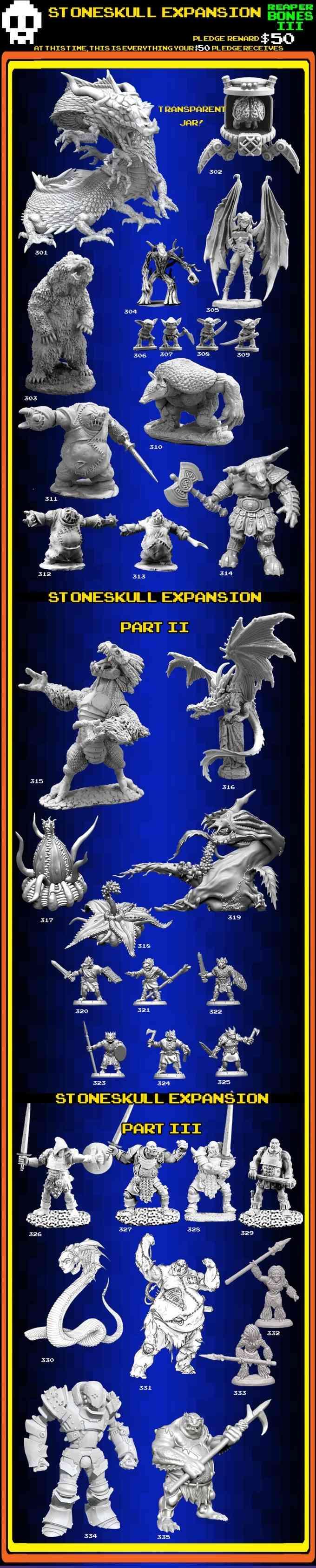 Available Reaper Bones Stones10