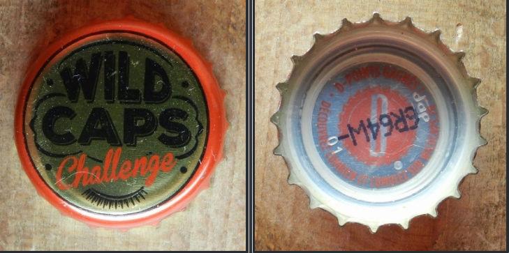 capsules de bière françaises avec un intérieur imprimé Wild10