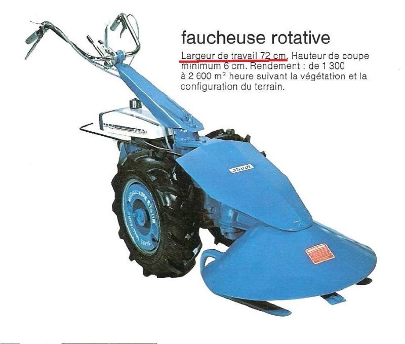 Pp2x - (Recherche) gyrobroyeur Staub pp2x Fauche15