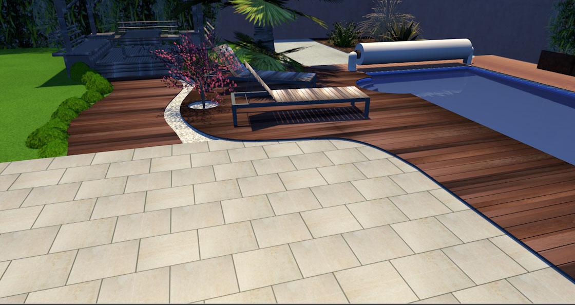 Projet de bassin en terrasse 2000L ou plus Maison16