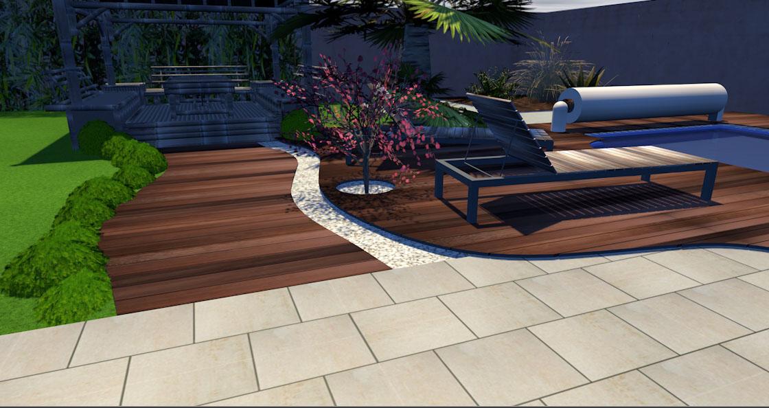 Projet de bassin en terrasse 2000L ou plus Maison17