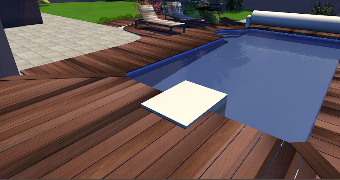 Projet de bassin en terrasse 2000L ou plus Maison19