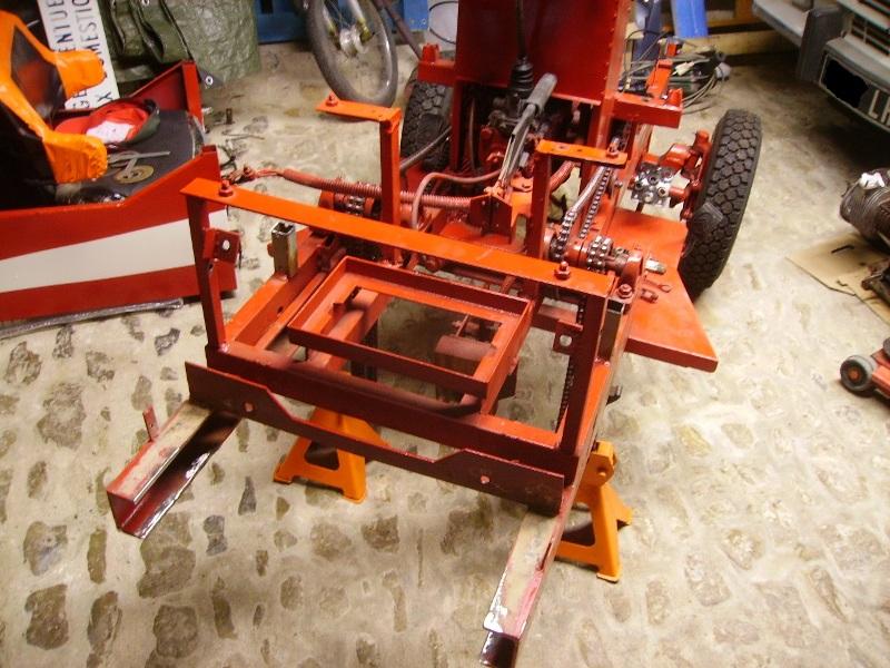 Tracteurs à moteur Citroën Dzopos12