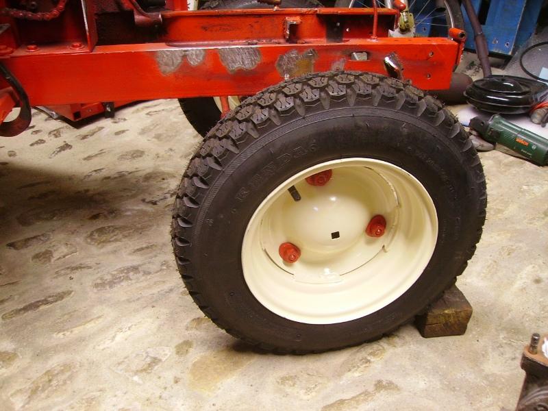 Tracteurs à moteur Citroën Pneus_18
