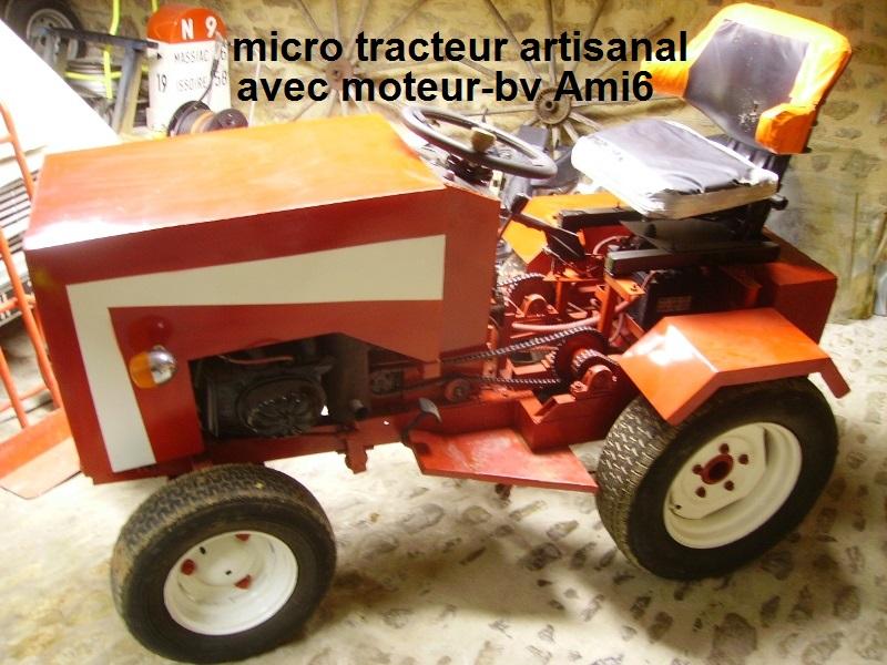 Tracteurs à moteur Citroën Tracte10