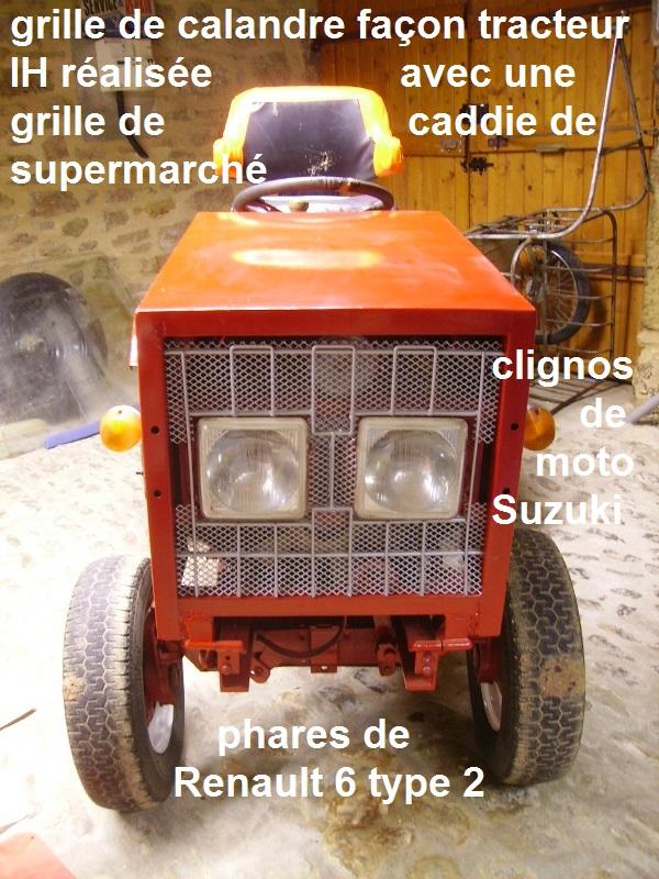 Tracteurs à moteur Citroën Tracte14