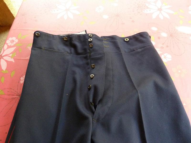 """Une question ... Différences pantalon """"1900"""" et 1931 Mod2610"""