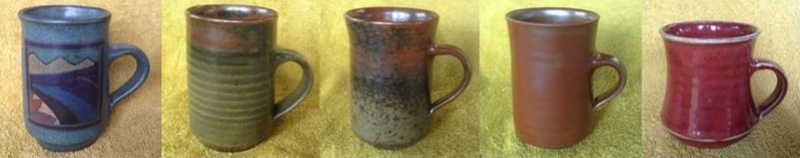 Waimea Pottery mugs Paulla11