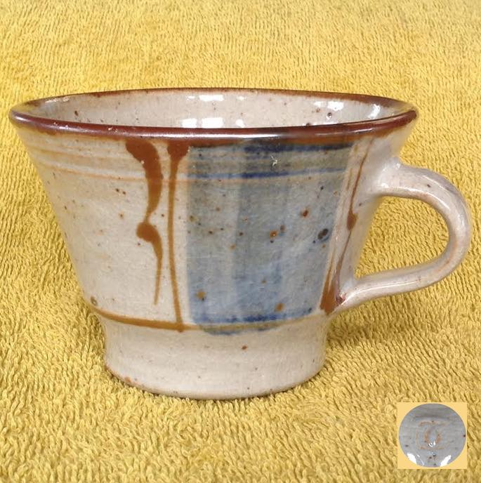 Glazed Jug with Eye mark - is Petra Meyboden Petram10