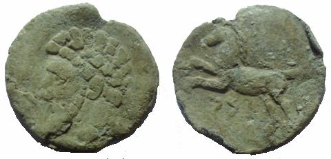 Ma collection de monnaie numide .( Massinissa Micipsa) - Page 3 Massin12