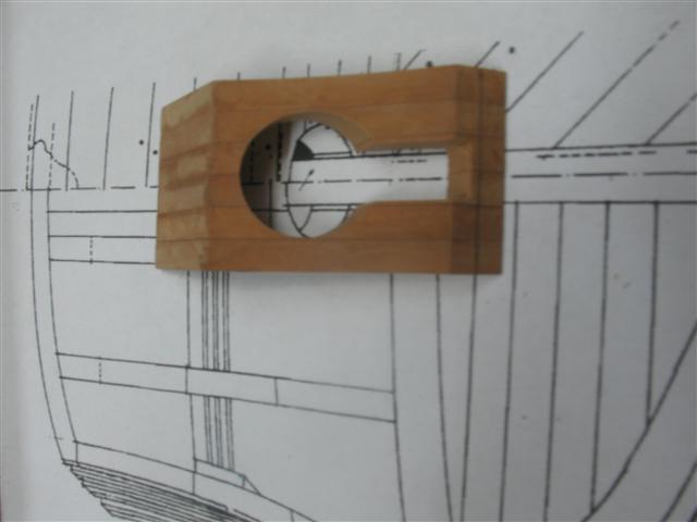 La Belle 1684 scala 1/24  piani ANCRE cantiere di grisuzone  Img_6811