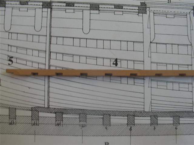 La Belle 1684 scala 1/24  piani ANCRE cantiere di grisuzone  Img_6910