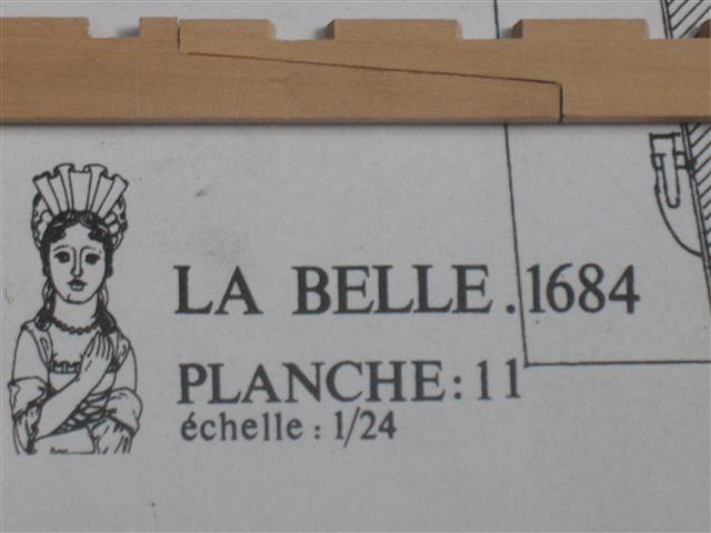 La Belle 1684 scala 1/24  piani ANCRE cantiere di grisuzone  Img_6913