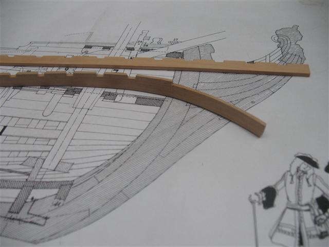 La Belle 1684 scala 1/24  piani ANCRE cantiere di grisuzone  Img_7011