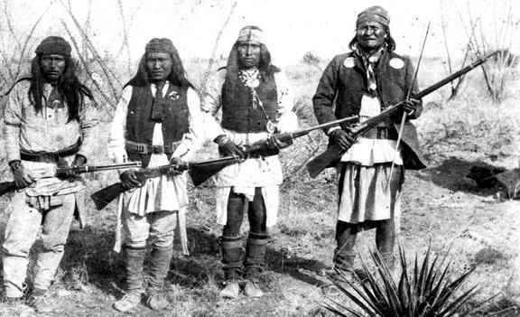 geronimo,et grands chefs Apache10
