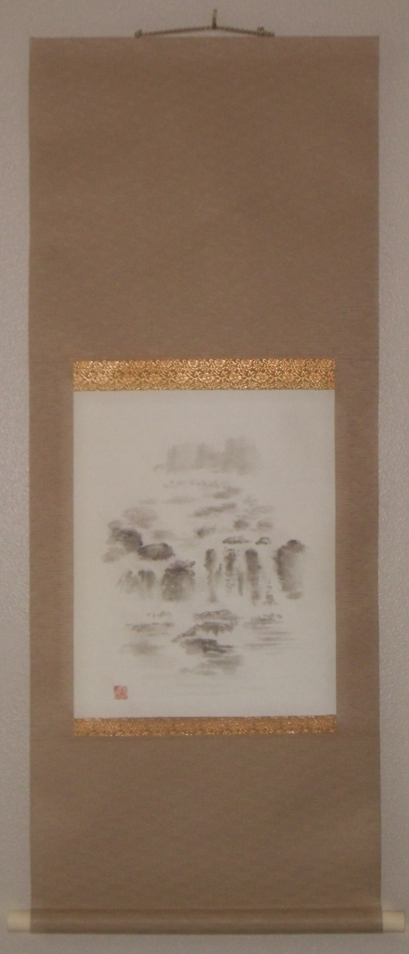 The Waterfall Scroll that was sold Ibc_la11