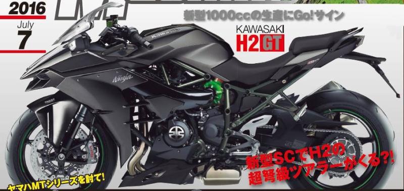 Kawasaki H2 GT, R2 et S2  2017-k10