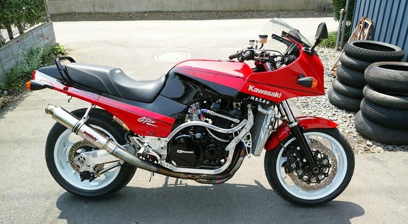 Kawasaki GPZ-R 900 et 750, 1000 RX, ZX 10 TOMCAT - Page 6 Gpzr110