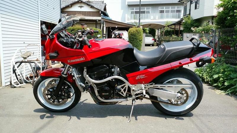 Kawasaki GPZ-R 900 et 750, 1000 RX, ZX 10 TOMCAT - Page 7 Gpzr210