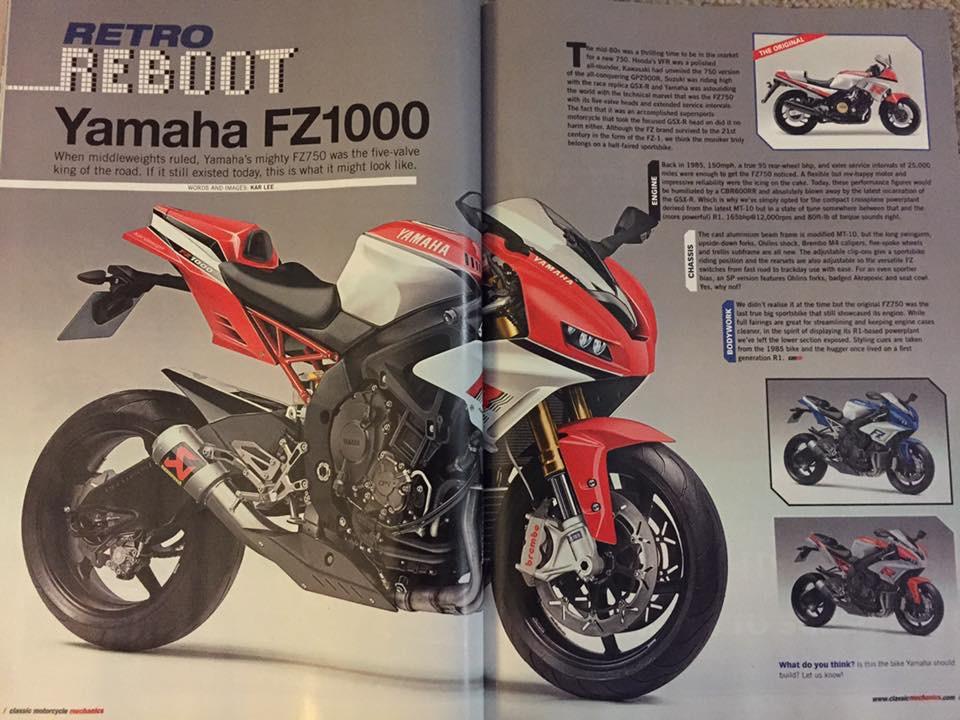 Revival FZ750 ?!?  Yamaha FZ 1000 Image75