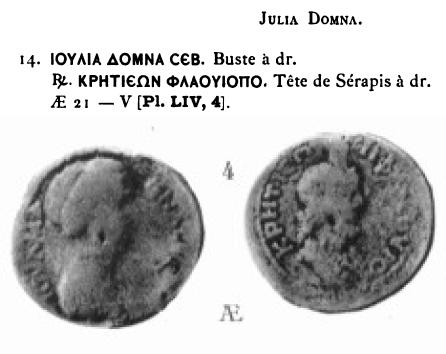 Moyen Bronze avec le Dieu Serapis et ??  Cretei10