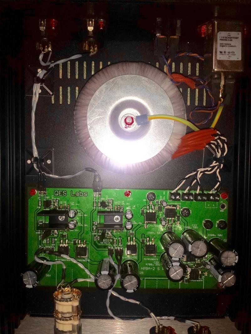 Nuovo Set Up QES LAB HPBA-2S & HD800 20160710