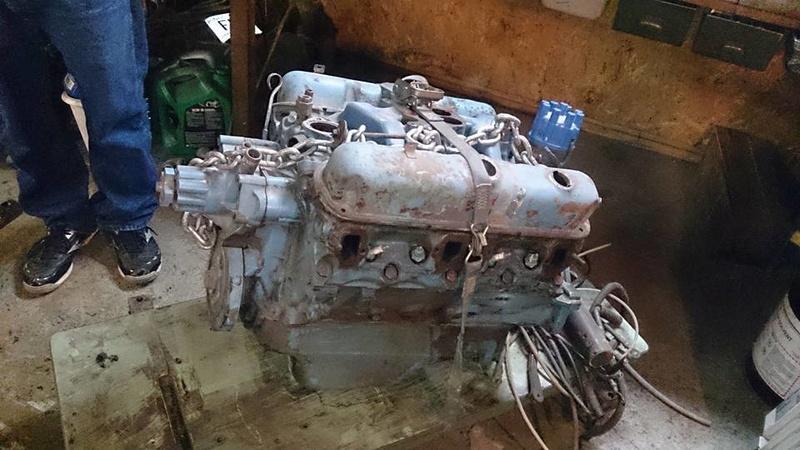 340 Wedge de 1968 avec têtes X à vendre  14055110