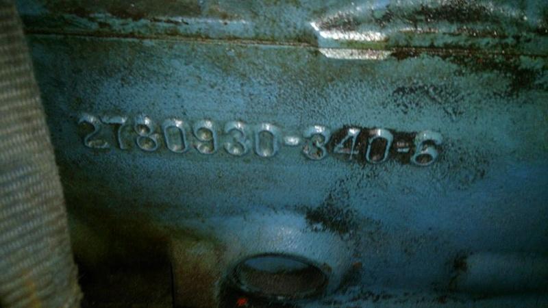 340 Wedge de 1968 avec têtes X à vendre  14100310
