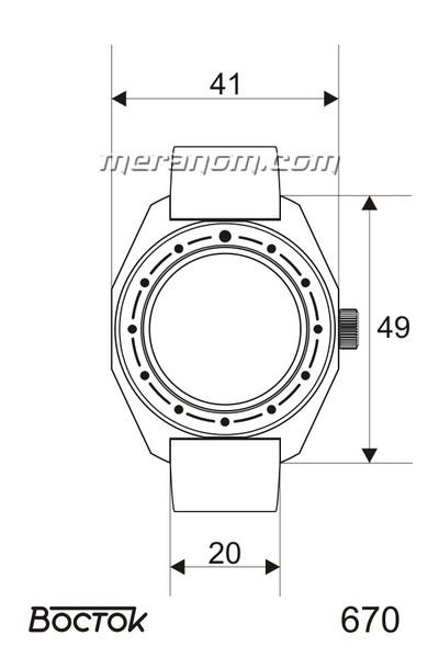 Amphibia - Dimensions des boitiers et entrecornes  67010