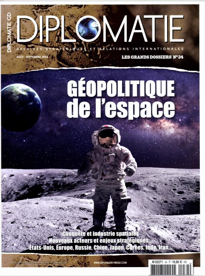 """Revue """"Diplomatie""""-Géopolitique de l'espace"""" Gyopol10"""