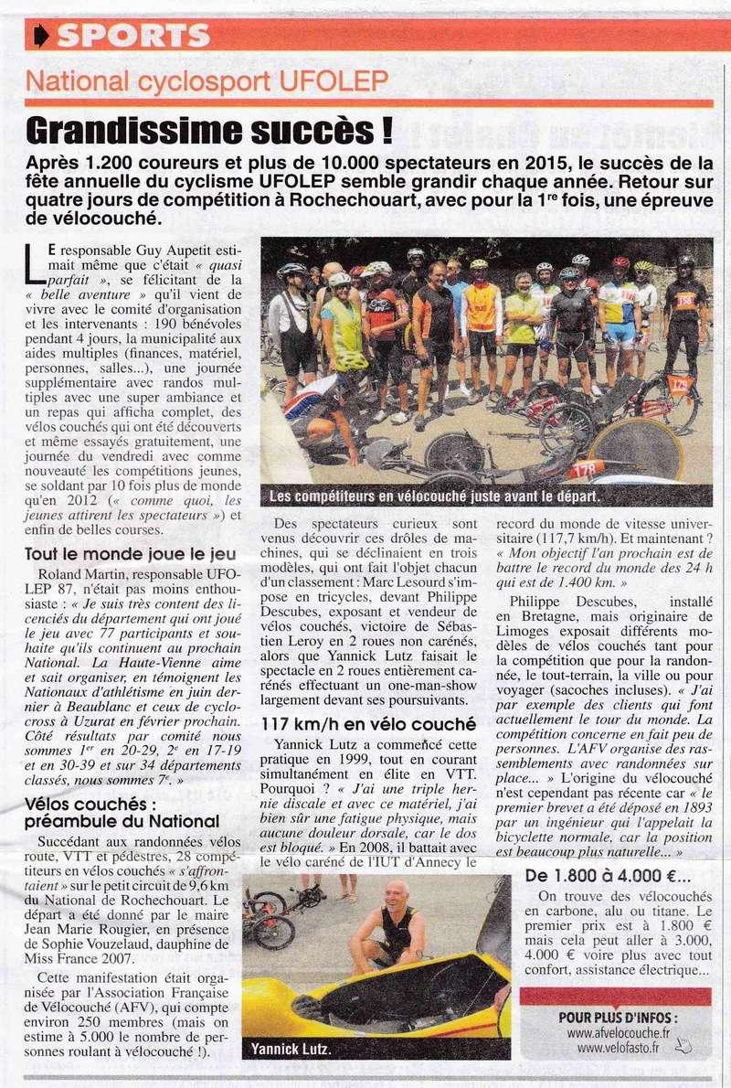 UFOLEP 2016: Championnat national Cyclosport à Rochechouart le jeudi 14/07 - Page 25 Nation10