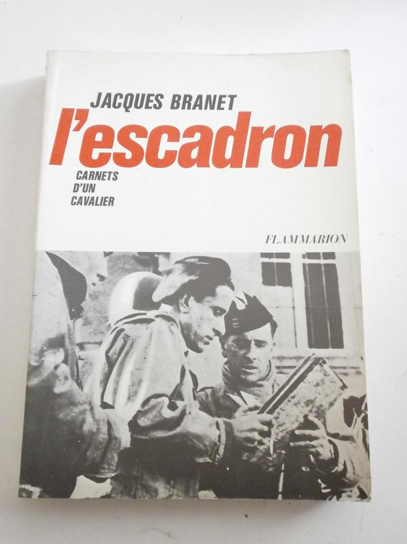 Jacques BRANET - L'escadron Carnets d'un cavalier Lot_1710