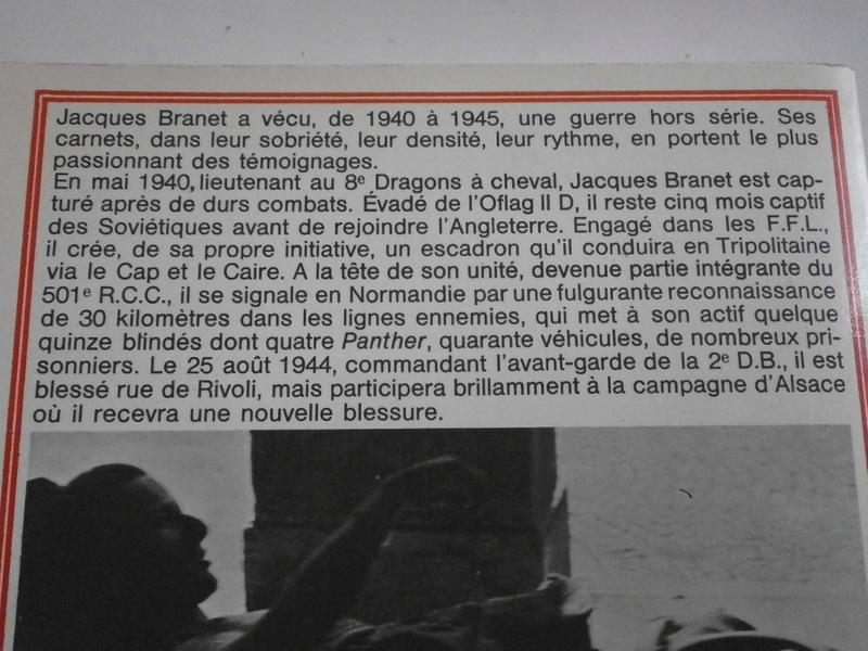 Jacques BRANET - L'escadron Carnets d'un cavalier Lot_1711