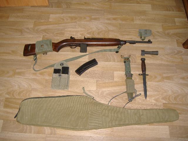 Armes d'épaule WWII/WWI en 5 ème catégorie Usm1-010