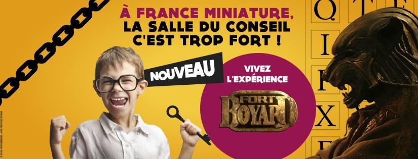 """Fort Boyard au parc """"France miniature"""" (78) 13707610"""
