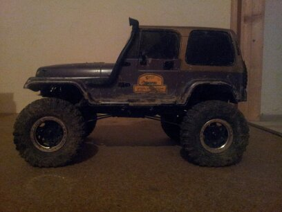 scx10 jeep wrangler ricain  13441912