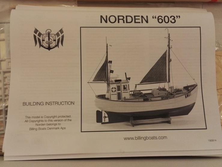 """Caboteur """"Le Norden"""" 1/30 de Billing Boats 18-01-12"""