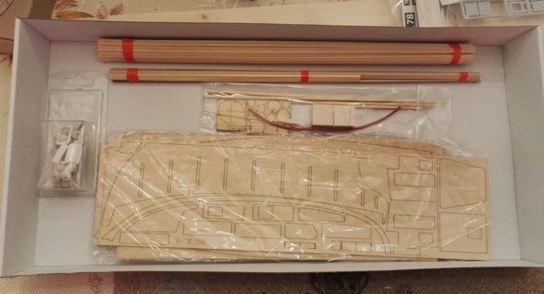 """Caboteur """"Le Norden"""" 1/30 de Billing Boats 18-01-15"""