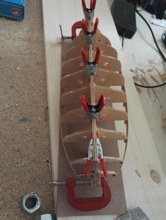 """Caboteur """"Le Norden"""" 1/30 de Billing Boats 18-01-22"""