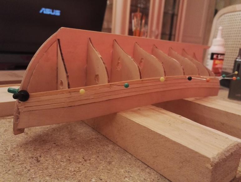 """Caboteur """"Le Norden"""" 1/30 de Billing Boats 18-01-25"""