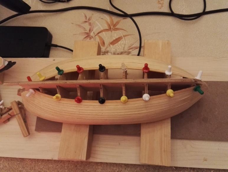 """Caboteur """"Le Norden"""" 1/30 de Billing Boats 18-01-27"""